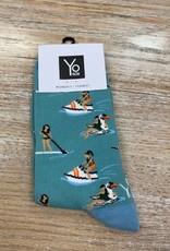 Socks Women's Crew Socks- SummerAtLake
