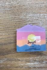 Beauty Lake Soap, Sunset