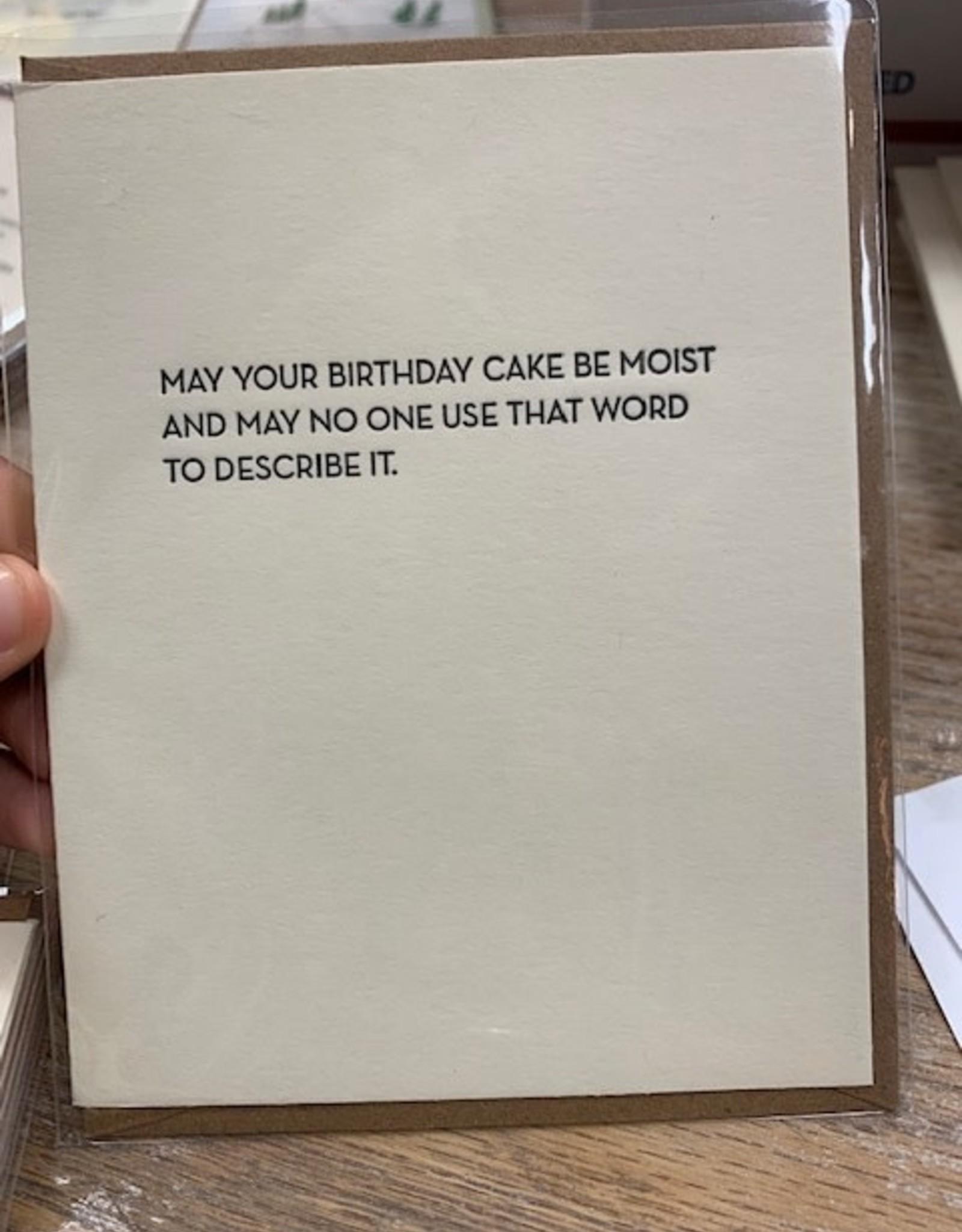 Card Moist Birthday Card