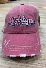 Hat Mauve Michigan Hat