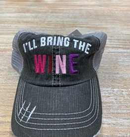 Hat I'll Bring The Wine Hat