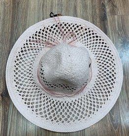 Hat Open Basket Weave Sun Hat