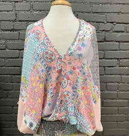 Top Beverly Boho Floral Top