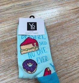 Socks Women's Crew Socks- DessertRules