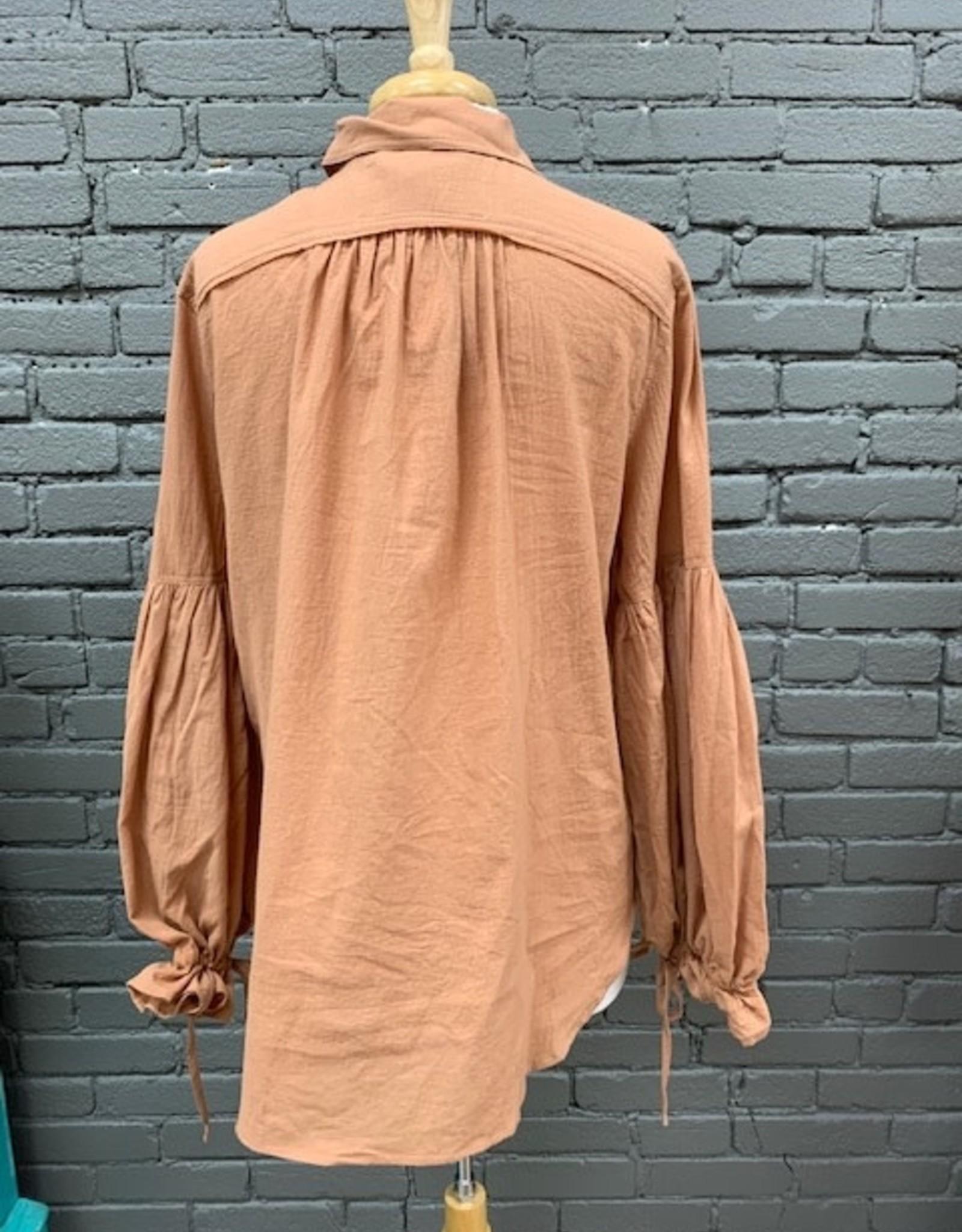 Shirt Robin Puff Oversize Shirt