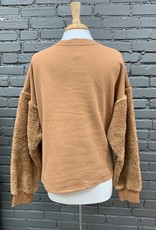 Long Sleeve Layla Sherpa Sweatshirt