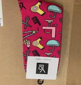 Socks Women's Crew Socks- HairDresser