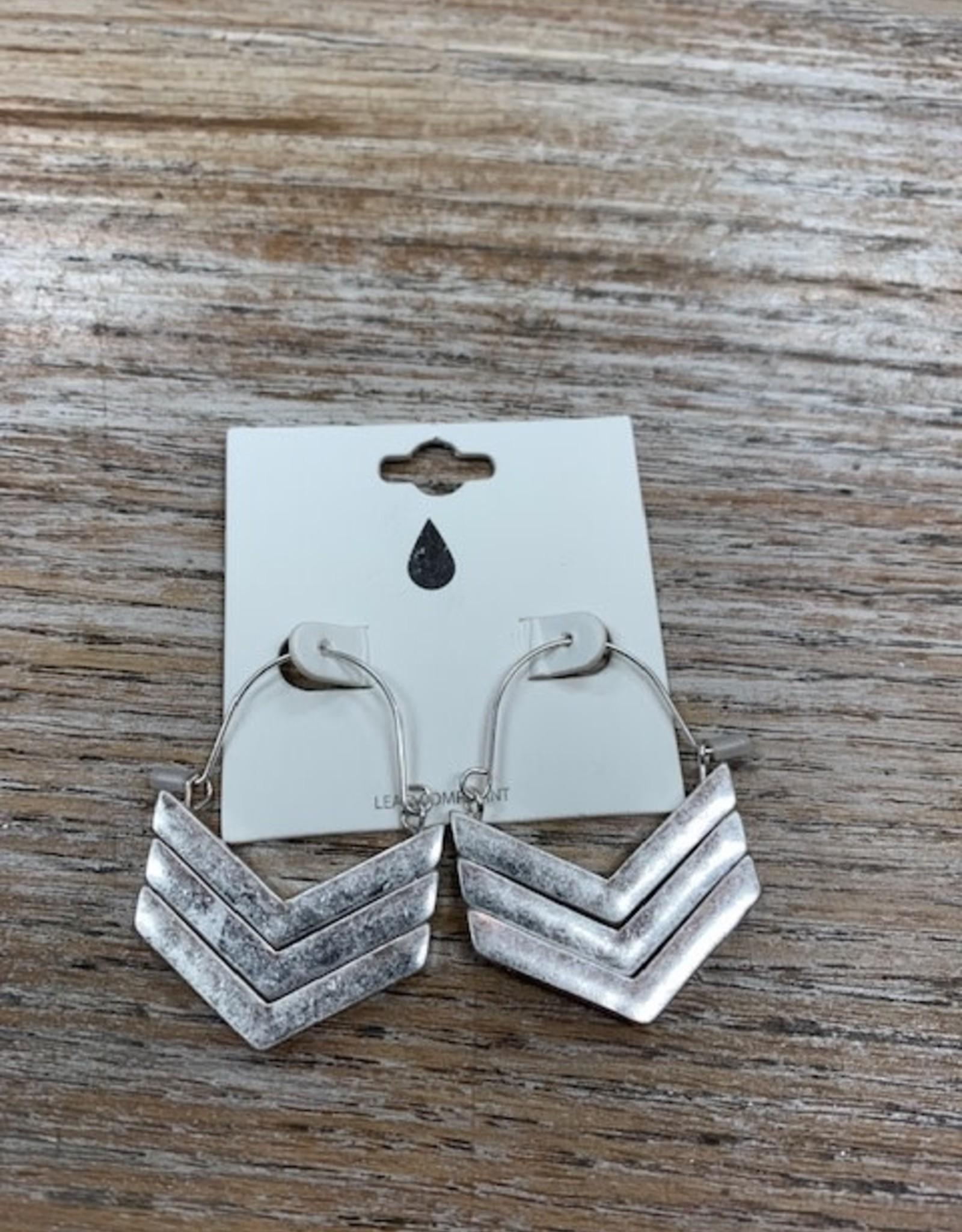 Jewelry Silver Arrow Earrings