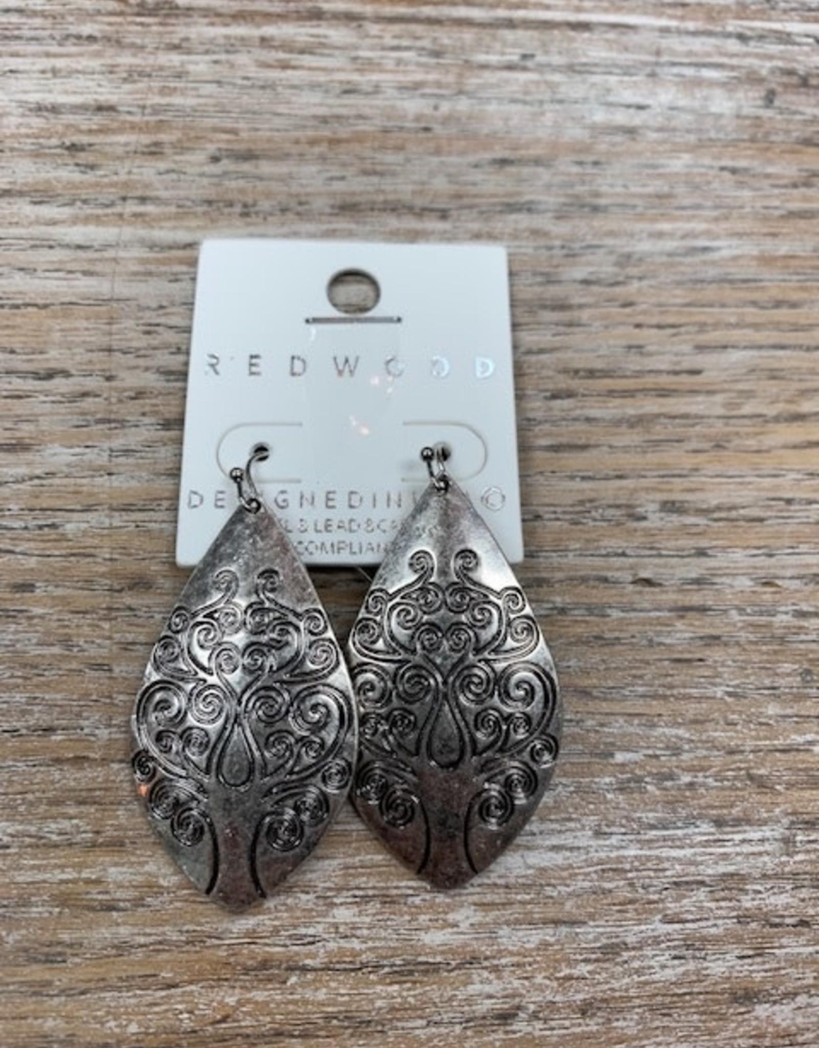 Jewelry Silver Tree Earrings