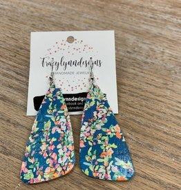 Jewelry TLD Tropical Tango Leather Earrings