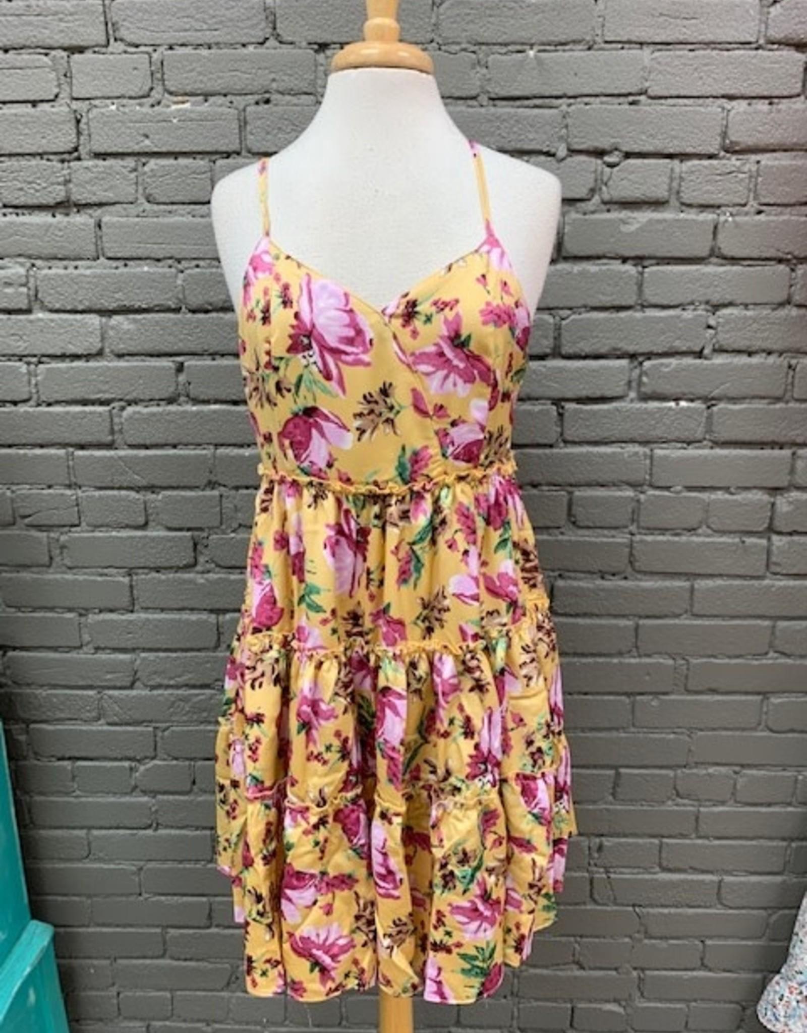 Dress Tori Floral Tiered Dress