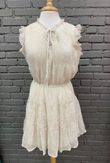 Dress Gloria Dotted Tiered Dress