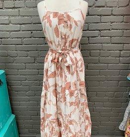 Dress Vera Floral Tie Maxi Dress