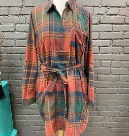 Dress Jill Plaid Dad Tie Dress