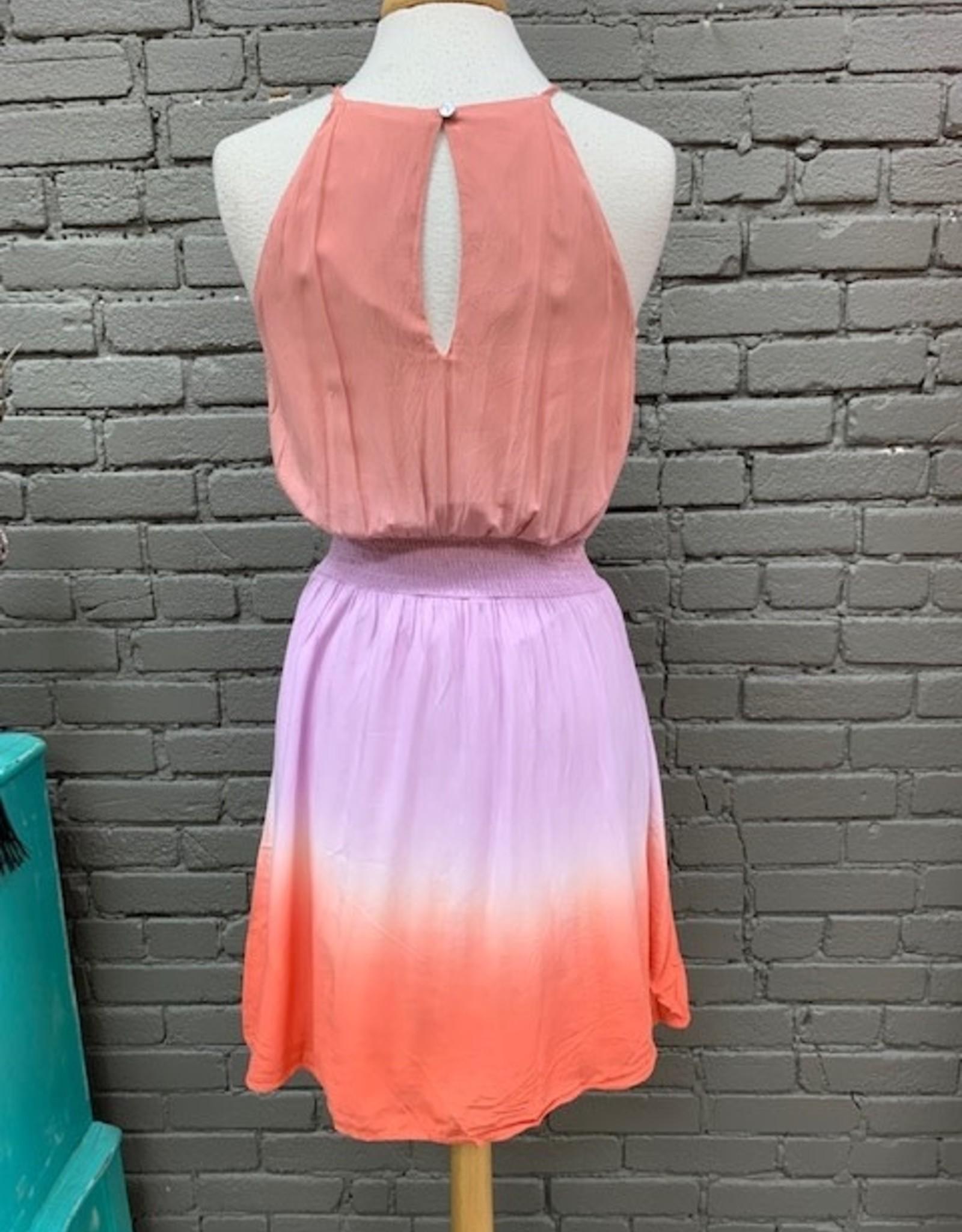 Dress Brenna Ombre Smocked Waist Dress