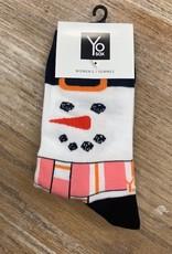 Socks Women's Crew Socks- FeelingFrosty