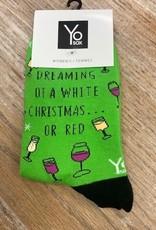 Socks Women's Crew Socks- DreamingWhite