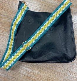 Bag Woven Turquoise Bag Strap