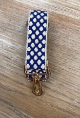 Bag Blue Cream Dot Bag Strap