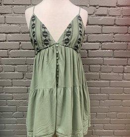 Dress Jessie Embroid Eyelet Swing Dress