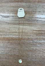 Jewelry Gold Moon Star Pendant Necklace