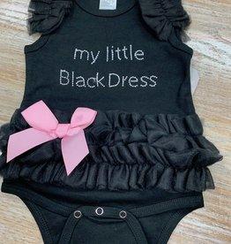 Kid's My Little Black Dress Baby- Ruffle