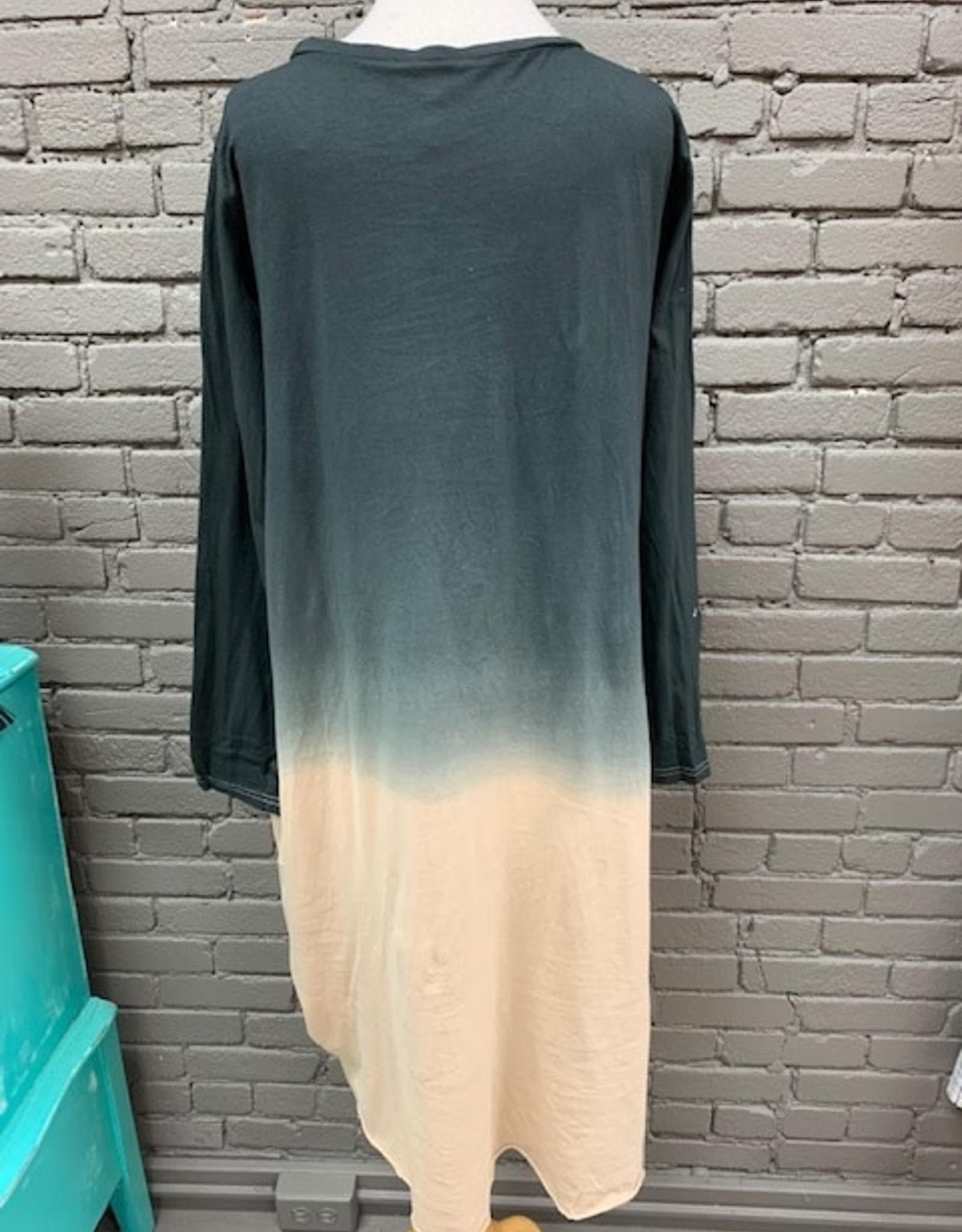 Dress Scarlett Ombre Knot Midi Dress