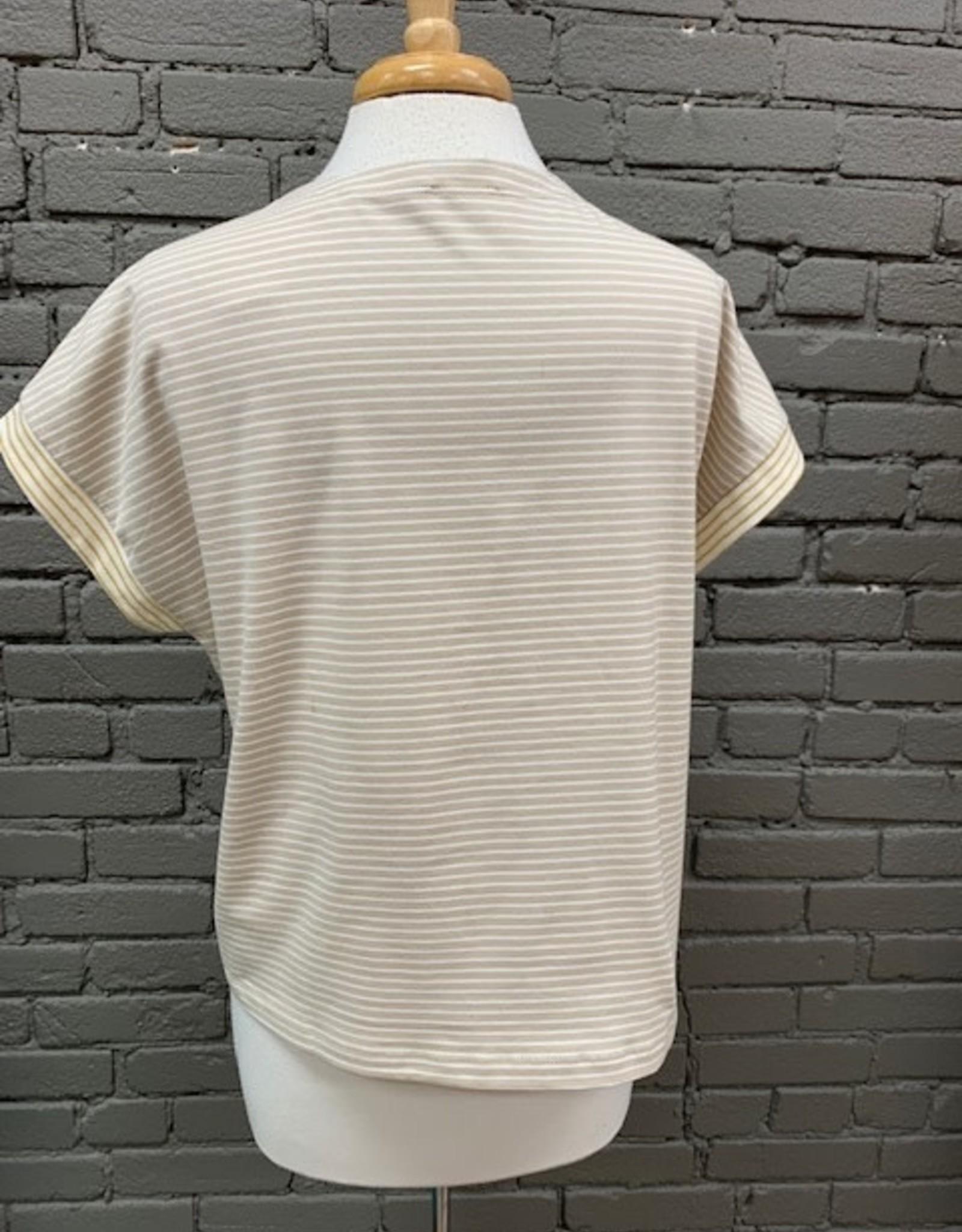 Shirt Delaney Striped Tie Shirt