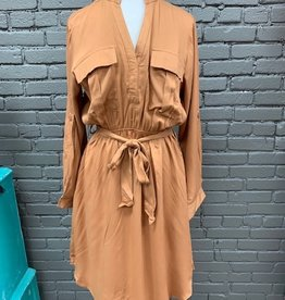 Dress Beth Shirt Dress Roll Up Sleeves