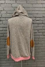 Long Sleeve Emmy LS Leopard Hoodie