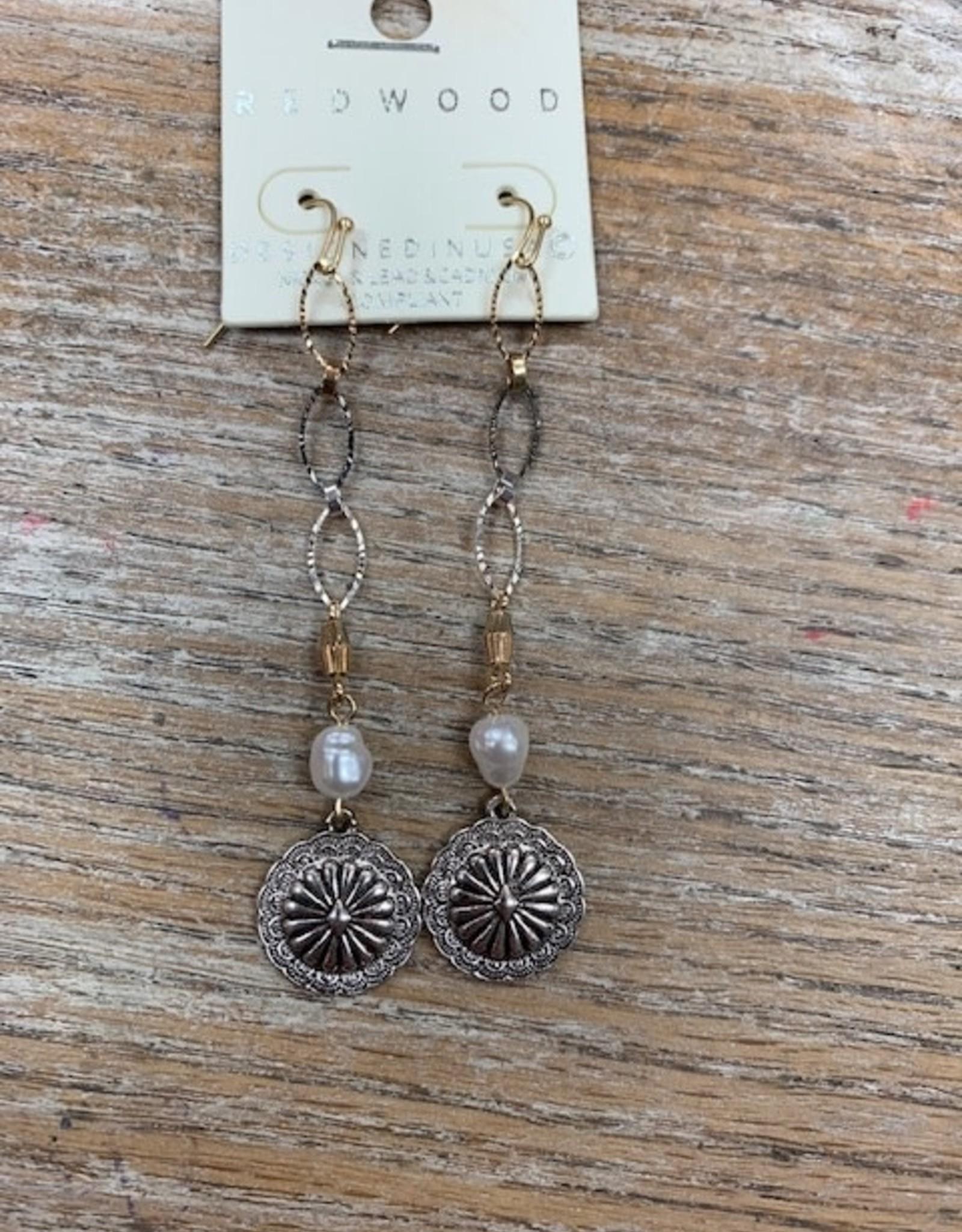 Jewelry Long Chain Pendant Earrings