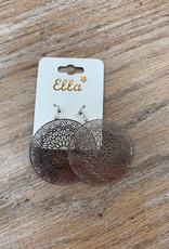 Jewelry Silver Mandala Earrings