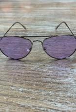 Sunglasses Sunglasses w/ Case- Color Aviators
