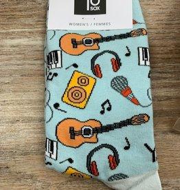 Socks Women's Crew Socks- Musician
