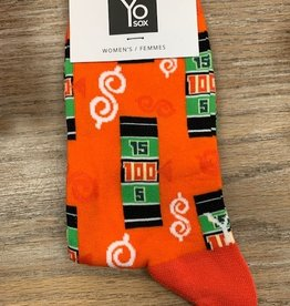 Socks Women's Crew Socks- SpinTheWheel