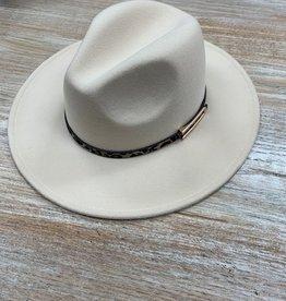 Hat Leopard Band Fedora
