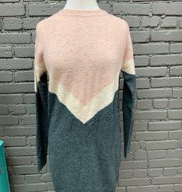 Dress Maizie Colorblock Sweater Dress