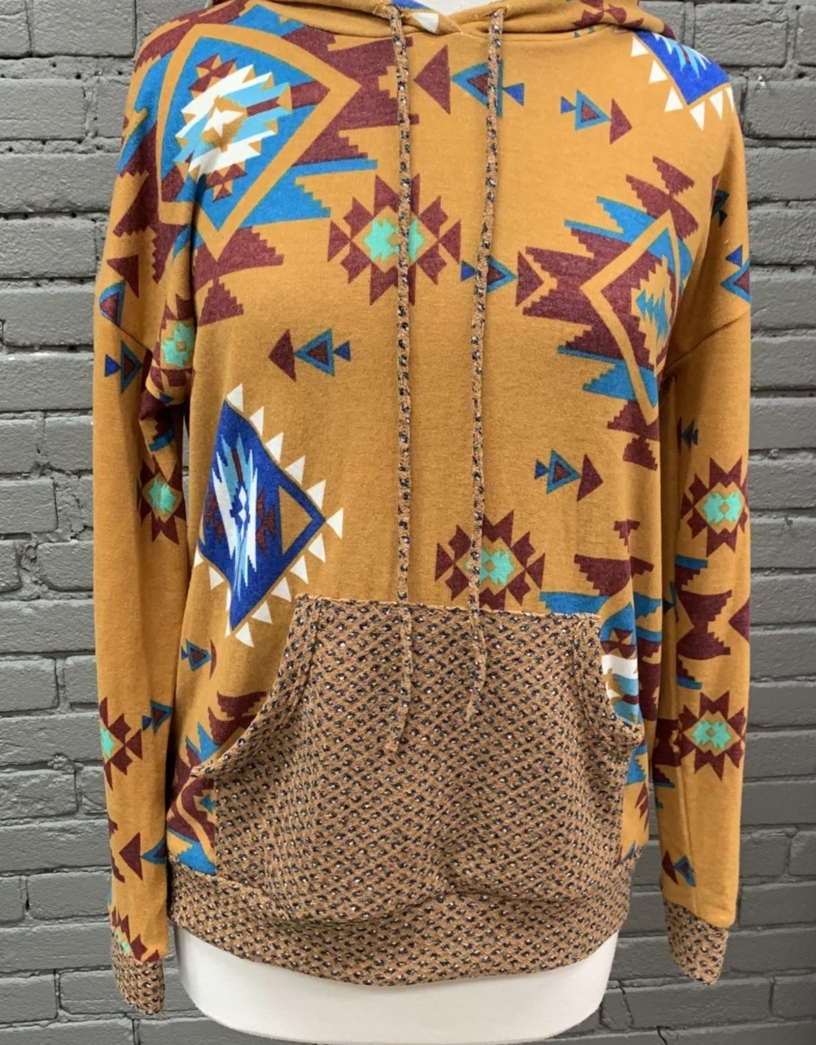 Jean Brinley aztec sweatshirt