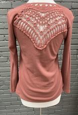 Long Sleeve Gracen crochet long sleeve