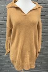 Dress Olivia orange sweater dress