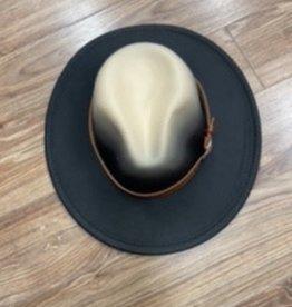 Hat Chayenne black felt hat one size