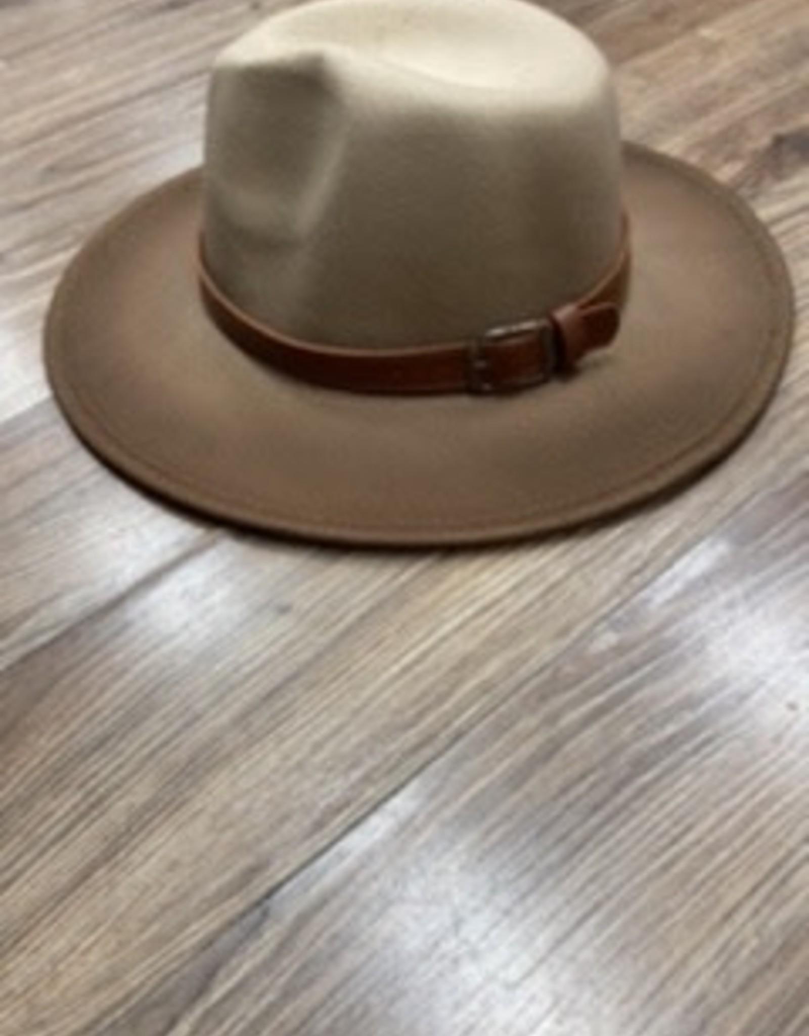 Hat Danielle tan felt hat one size