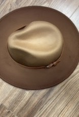 Hat Coco brown felt hat one size