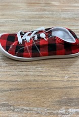Shoes Plaid Lace Up Sneakers