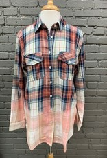 ButtonDown Rust Plaid Flannel