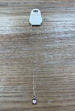 Jewelry Silver Necklace w/ Heart Lock