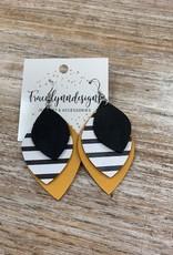 Jewelry TLD Triple Mustard Stack Earrings