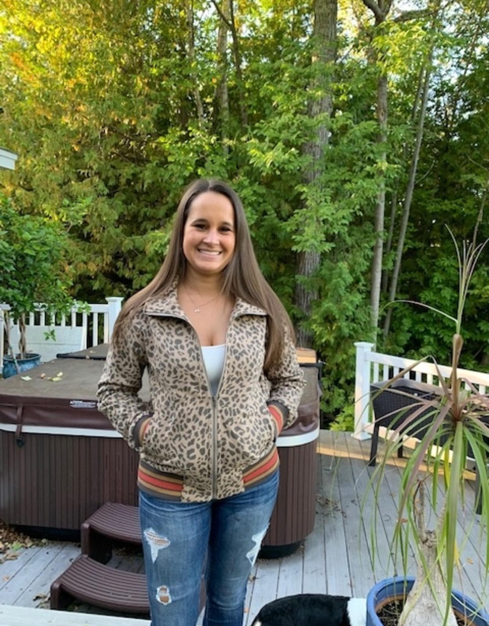 Jacket Sarah Leo Print Jacket