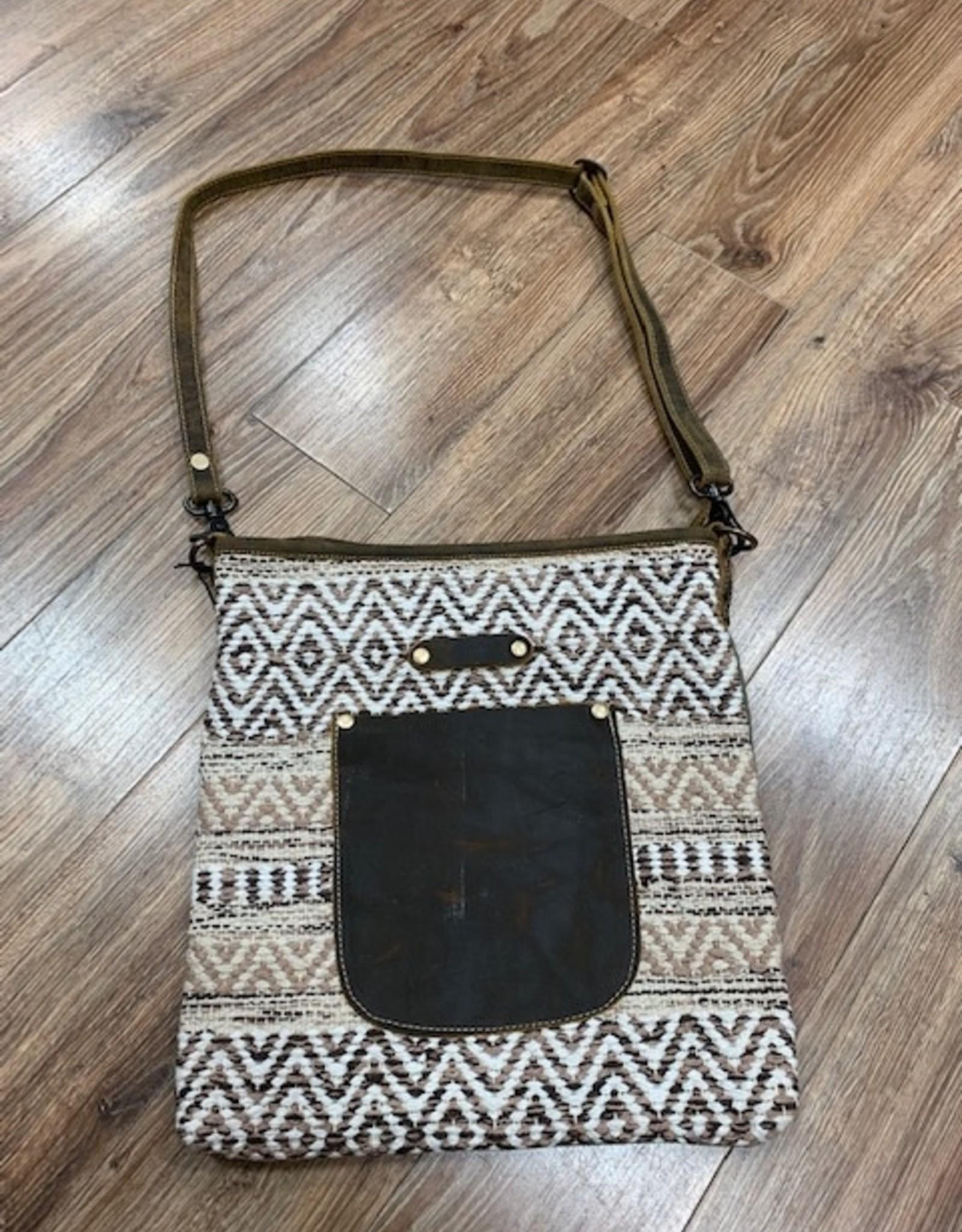 Bag Beige World Shoulder Bag