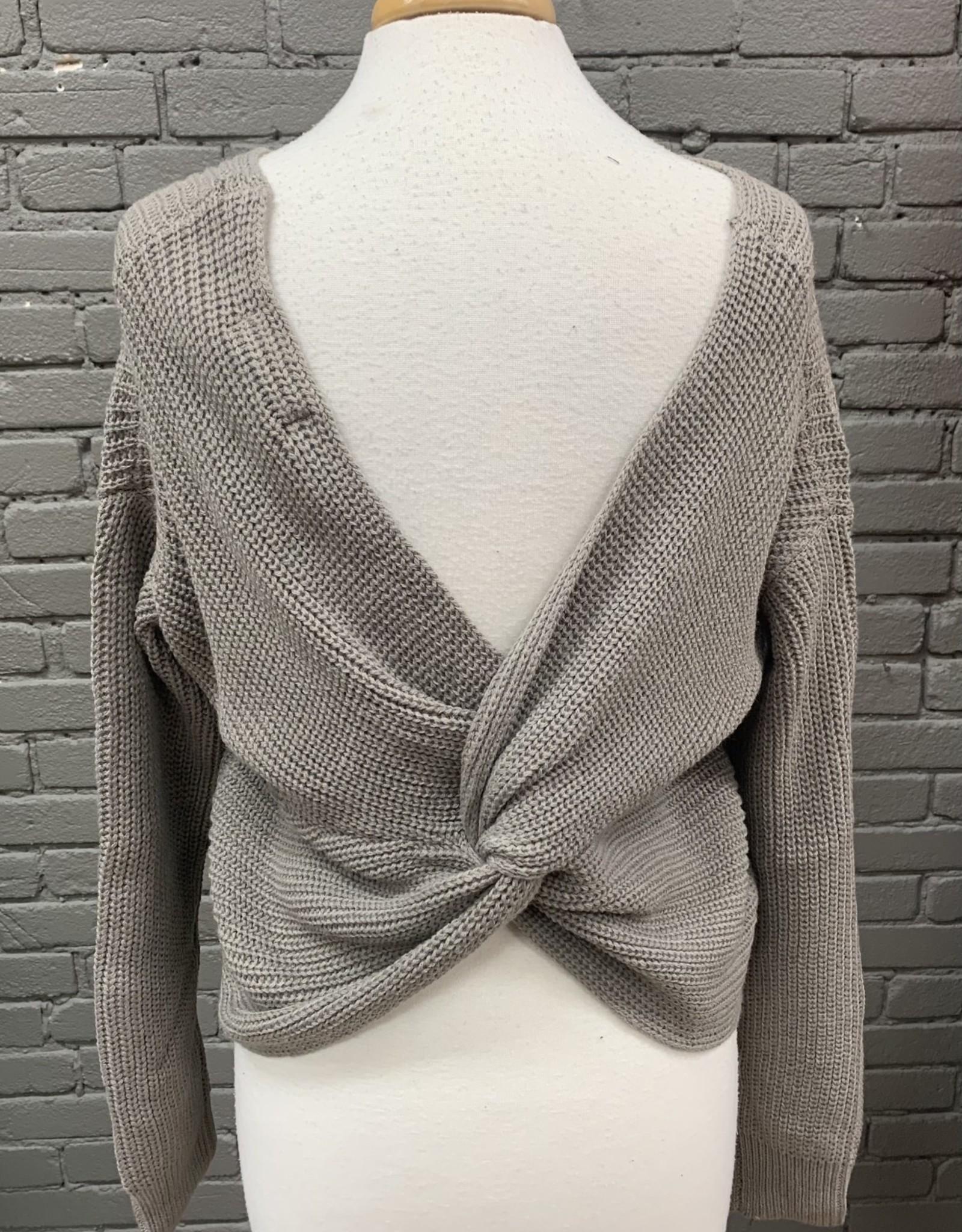 Sweater Lexi twist back sweater